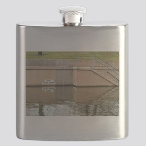 Danger Strong Current Flask
