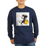 Rattachewie - Long Sleeve Dark T-Shirt