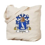 Amour Family Crest  Tote Bag