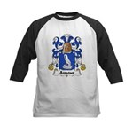 Amour Family Crest  Kids Baseball Jersey