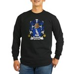Amour Family Crest Long Sleeve Dark T-Shirt
