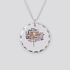 Breast Cancer Awareness and  Necklace Circle Charm