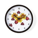 Ladybug Party Wall Clock