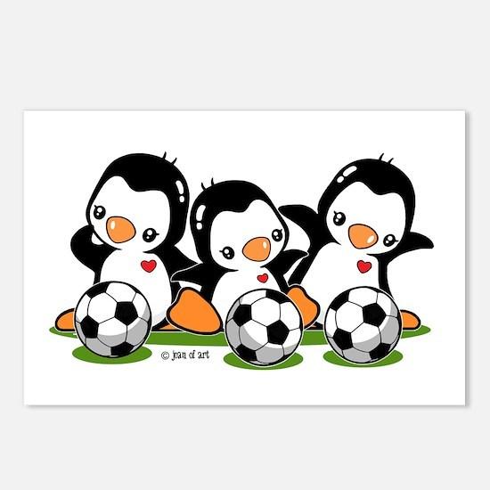 Soccer Penguins Postcards (Package of 8)