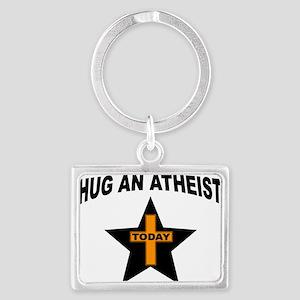 ATHEIST HUGS Keychains