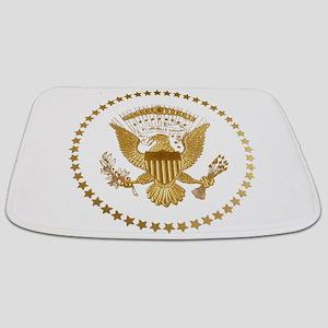 Gold Presidential Seal Bathmat