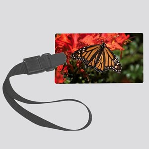 Honeysuckle Monarch Butterfly Be Large Luggage Tag