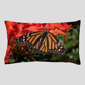 Honeysuckle Monarch Butterfly Beauty Pillow Case