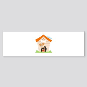 DOG HOUSE Bumper Sticker