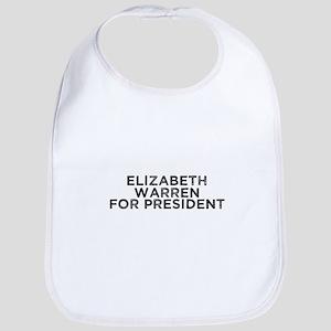 Elizabeth Warren for President Baby Bib