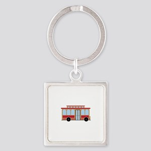 Trolley Keychains