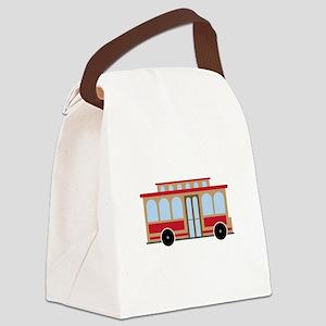 Trolley Canvas Lunch Bag