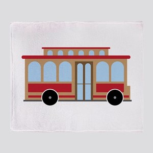 Trolley Throw Blanket