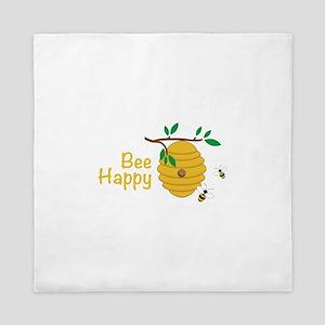 Bee Happy Queen Duvet