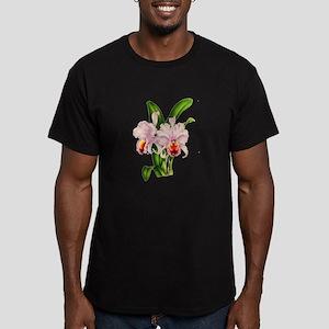 Violet Whisper Cattley Men's Fitted T-Shirt (dark)