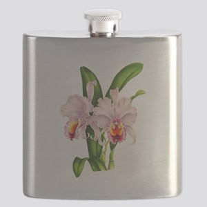 Violet Whisper Cattleyea Orchid Flask