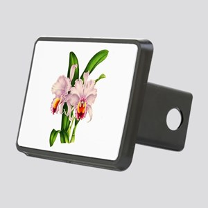 Violet Whisper Cattleyea O Rectangular Hitch Cover