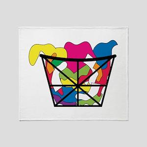 Laundry Basket Throw Blanket