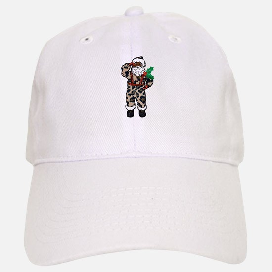 african leopard santa claus Baseball Baseball Cap