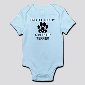 Protected By A Border Terrier Body Suit