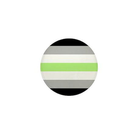 Agender Pride Flag Mini Button