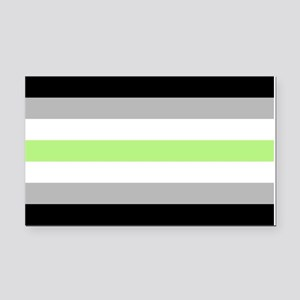 Agender Pride Flag Rectangle Car Magnet