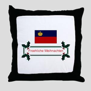 Liechtenstein Froehliche.. Throw Pillow