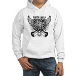 Party Like A Rock Star Hooded Sweatshirt