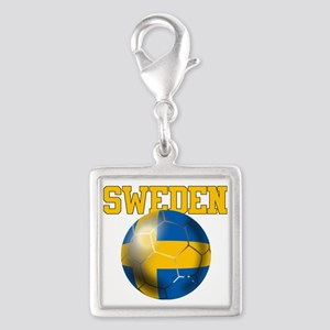 Sweden Football Charms