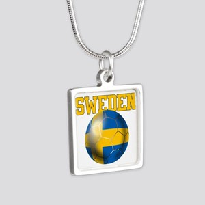 Sweden Football Necklaces
