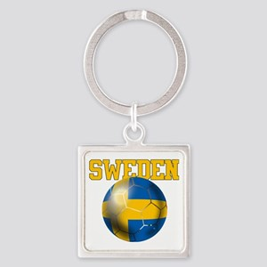 Sweden Football Keychains