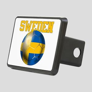 Sweden Football Rectangular Hitch Cover