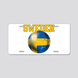 Sweden Football Aluminum License Plate