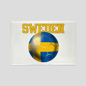 Sweden Football Magnets
