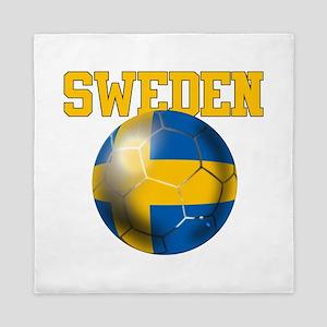 Sweden Football Queen Duvet