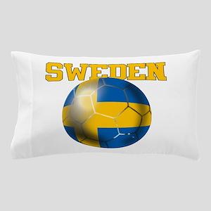 Sweden Football Pillow Case