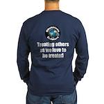 Treating Others Long Sleeve Dark T-Shirt