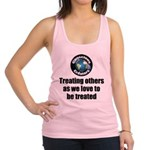 Treating Others Racerback Tank Top