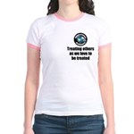 Treating Others Jr. Ringer T-Shirt