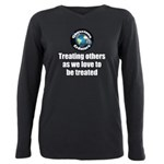 Treating Others Plus Size Long Sleeve Tee