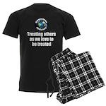 Treating Others Men's Dark Pajamas