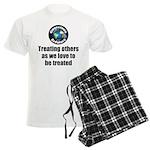 Treating Others Men's Light Pajamas