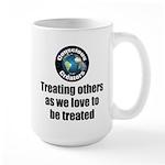 Treating Others 15 oz Ceramic Large Mug