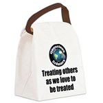 Treating Others Canvas Lunch Bag