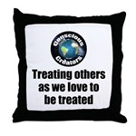 Treating Others Throw Pillow