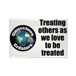 Treating Others Rectangle Magnet (100 pack)
