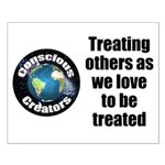Treating Others Small Poster