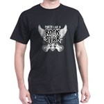 Party Like A Rock Star Dark T-Shirt