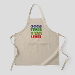 Good Times Tan Lines Apron
