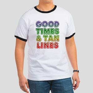 Good Times Tan Lines Ringer T